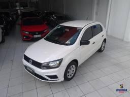 Volkswagen Gol 1.0 MPI - 2020 - Aceito carro ou moto como entrada