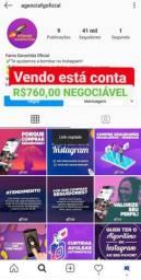 Vendo conta no Instagram 41K ( Valor negociável)