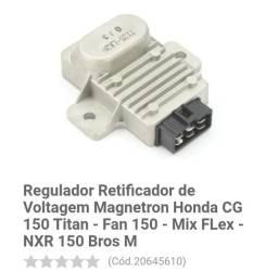 Regulador retificador CG 150 2009 mix....