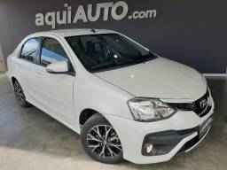 Toyota Etios Sedan Platinum 1.5 Automático 2018 Extra!!!