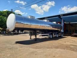 Carreta tanque térmico de Inox