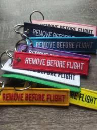 Chaveiro de Cinta - remove before flight