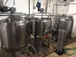 Vendo cozinha cervejeira completa 300 litros