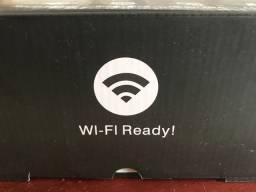 Mini projetor com Wi-Fi