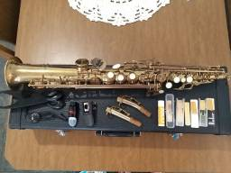 Saxofone Soprano Eagle Completo!