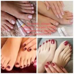 Cabeleireira e manicure