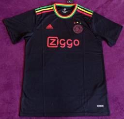 Camisa do Ajax Reggae (disponível: GG)
