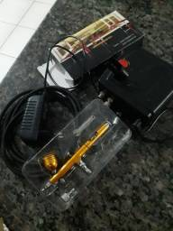 Caneta Aerografo+mini compressor