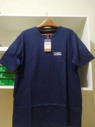 Camiseta Tommy Hilfiger Original preta - XL / GG
