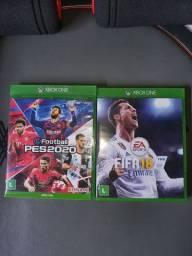 PES 2020 & FIFA 2018