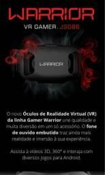 Óculos Virtual 3D com Fone de Ouvido