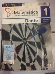 Vendo excelente livro de matemática Dante 1