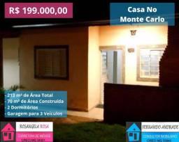 COD:508 Casa no Bairro Monte Carlo