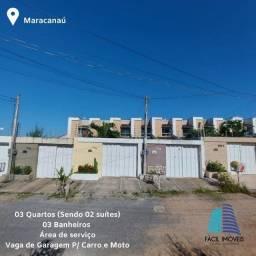 Alugo Excelente Casa no Bairro Parque Luzardo Viana -Maracanaú/CE
