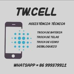 T.W Cell assistência tecnica