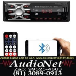 Som Radio Automotivo Firstoption 6630bn Com Usb Bt