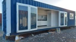 Casa container, pousada,plantão de vendas, escritorio kit net em Francisco Beltrão