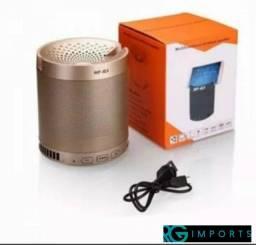 Caixa De Som Bluetooth Usb Mp3 Aux Com Suporte De Celular Q3 - original