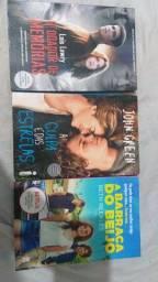 Livros de romance e fantasia