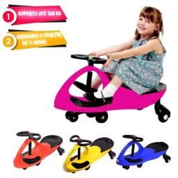 Gira Gira Car Infantil, Menina e Menino, Novos A Pronta Entrega