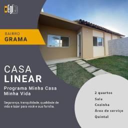 Título do anúncio: Casa no bairro Grama com 2 quartos - Oportunidade!!!