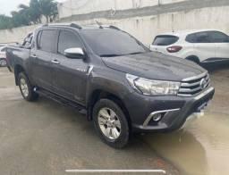 Toyota Hilux srv 2.8 turbo automático 4x4 ipva 2021 pg