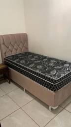 Vendo cama com cabeceira personalizada