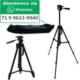 Tripé Profissional 1,80m Camera , Celular 1 metro e 80 centimetros