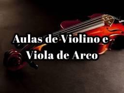 Aulas de violino ou viola clássica