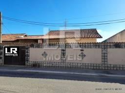 Casa com 3 quartos, piscina e churrasqueira na Estação, rua asfaltada *ID:E-07