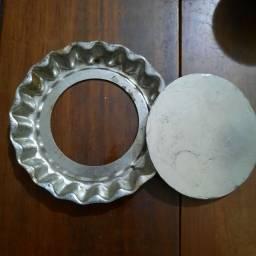 Forma em alumínio para tortinha