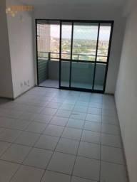 Apartamento com 3 dormitórios para alugar, 72 m² por R$ 2.500/mês - Encruzilhada - Recife/