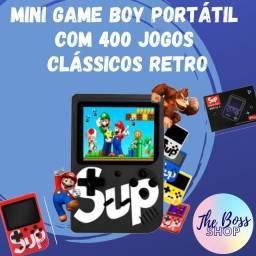Mini Game Boy Portátil Com 400 Jogos Clássicos Retro