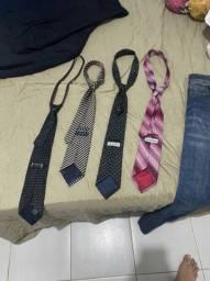 gravatas cia do terno e outras marcas