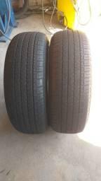 Título do anúncio: Par pneus Originais TR4 255/65/17