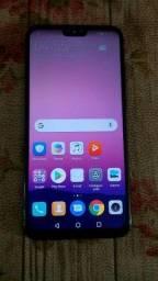 Huawei Y 2019 semi novo em estado de novo .