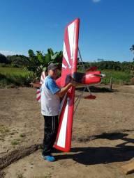 AEROMODELO DECATHON 40CC  ZDZ  VENDO OU TROCO POR DRONE MAVIC PRÓ OU MINI