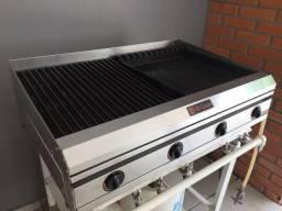 Charbroiler churrasqueira Di cozin cbd-860 gás