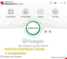 Antivírus Notebook computador e Celular
