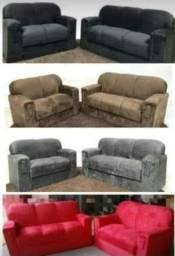 sofas xaropinhos 2 e 3 lugares de elegância para sua sala