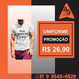 Camisa Malha Uniforme Profissional