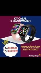Kit casal 2 smartwatch T500