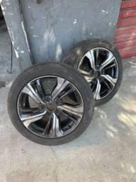 Vendo rodas 17 5 furos modelo Honda Civic 20/21