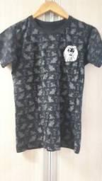 Camiseta infantil feminina