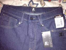 Calça jeans Starter 42 Nova