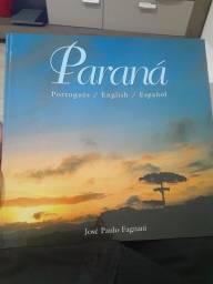 Livro Paraná em três idiomas