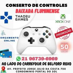CONSERTO DE CONTROLE XBOX ONE