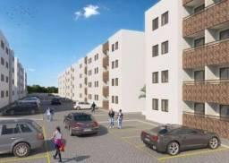 Apartamento com 02 quartos no Bancários com área de lazer
