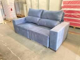 Sofá reclinável __