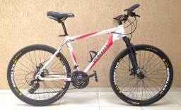 Bike aro 26 - quadro 19 Vercelli Forza - Câmbio Shimano